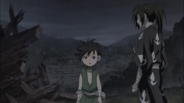 Sozinhos no mundo, Dororo e Hyakkimaru só contam um com o outro