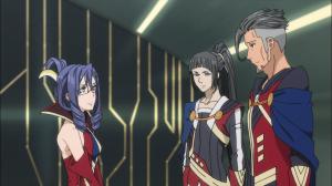 Leila, Izana e Harold, os conselheiros mais próximos de Yuki