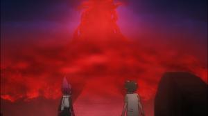 Rin e Wakaba finalmente encaram a árvore vermelha