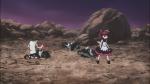 Wakaba salva as Rinas recuperando sua folha especial