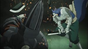 O lobo guarda-costas da General Tabira não conseguiu arranhar Geiss