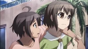 Nozomi torceu o tornozelo mas Sayako não irá deixá-la para trás