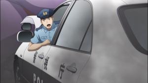 O policial que salvou a vida de Nozomi e Sayako