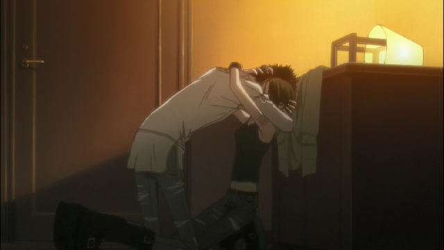O reencontro entre Nana e Ren, tornado possível graças à Hachi