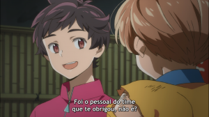 Kazuki entende errado (ou finge que entende errado) o beijo que Enta lhe deu
