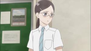 Sonezaki perturbada com a zombaria que sofreu da sua turma