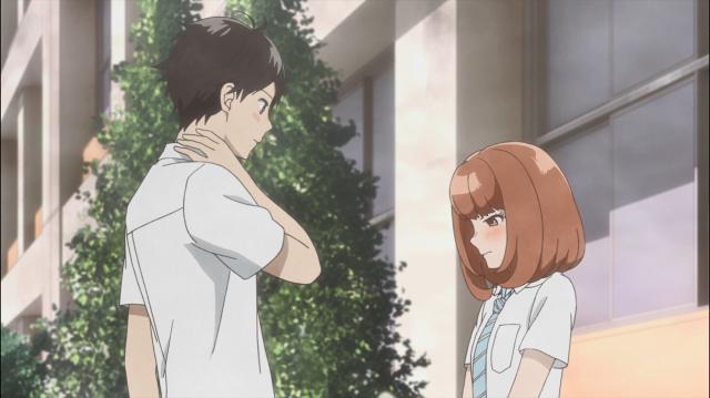 Izumi recebe uma declaração de amor