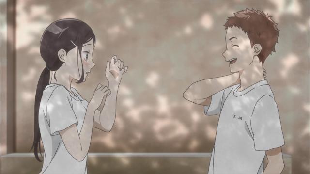 Sonezaki fica completamente sem reação depois de ser elogiada por Amagi