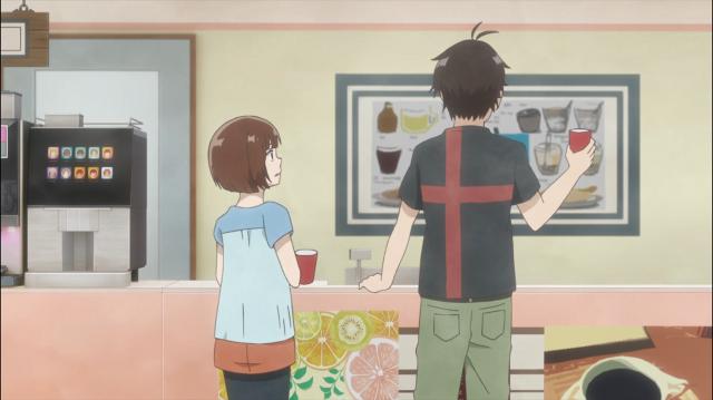 As coisas continuam estranhas entre Onodera e Izumi