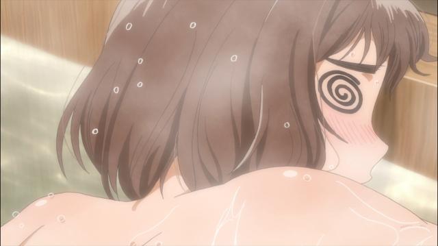 Onodera desmaia no banho