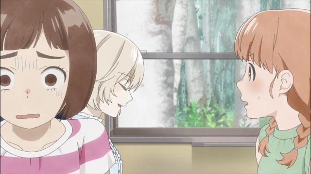 Momoko sem reação enquanto Sugawara provoca Onodera