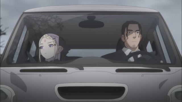Tilarna tenta consolar Kei após o enterro de RIck