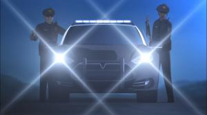 Esses policiais não vivem mais do que essa cena