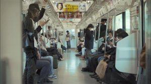 Trem em Tóquio