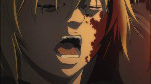 Quando matou seus sentimentos, Thorfinn respirou fundo