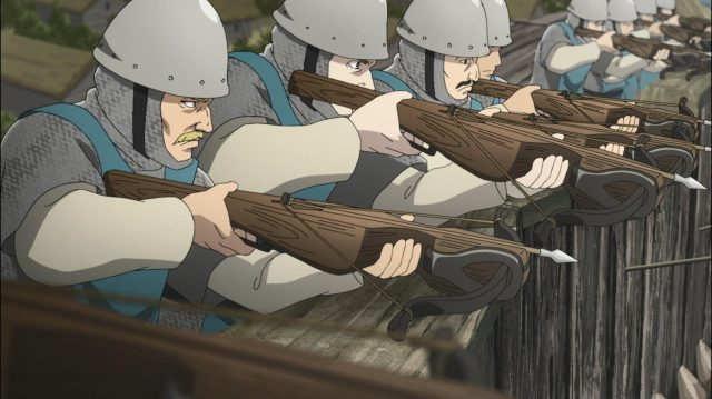 Soldados franceses do forte