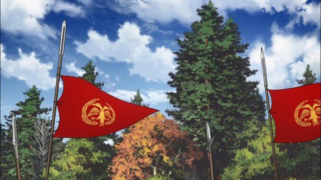 Bandeiras bizantinas