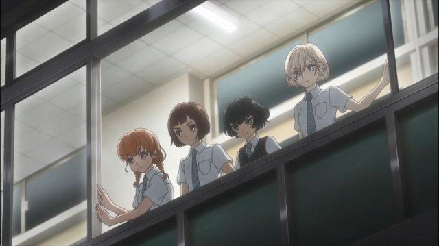 Momoko, Onodera, Hongou e Sugawara ocupam a escola e fazem exigências