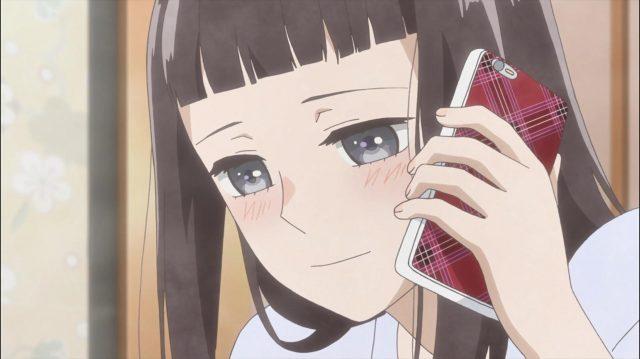 Sonezaki está absolutamente apaixonada por Amagi