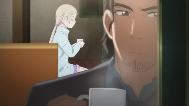 Tilarna e Kei conversam após o fim do caso da troca de corpos