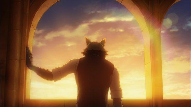 Legosi percebe que se sente feliz por ter conhecido Haru