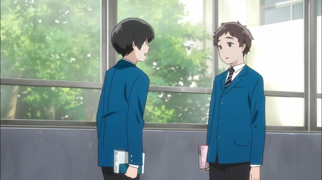 Maki percebe que Yuuta gosta de Touma e o recruta para ser assistente do clube de soft tênis