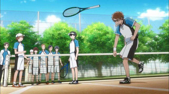 Touma tem uma explosão de raiva ao perceber quão baixo é o nível de todos os jogadores do seu clube