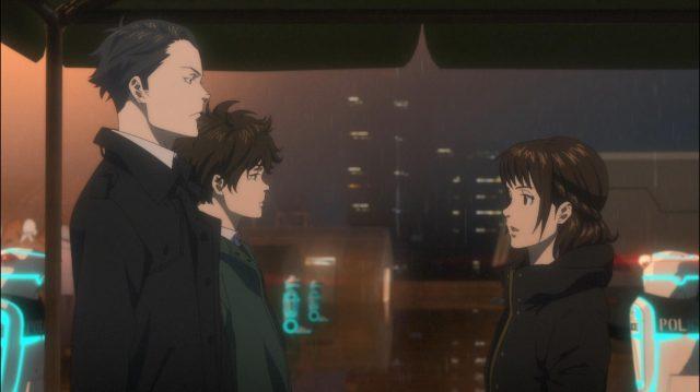 Kei e Arata recebendo as primeiras ordens de Shimotsuki