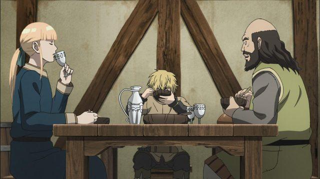 Canuto e Ragnar conversam animadamente em íntimo