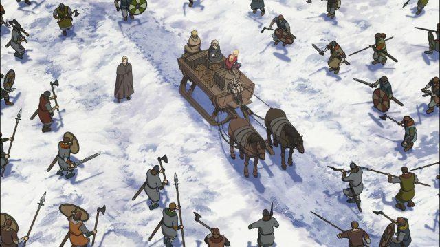 Askeladd é cercado pelos seus próprios homens