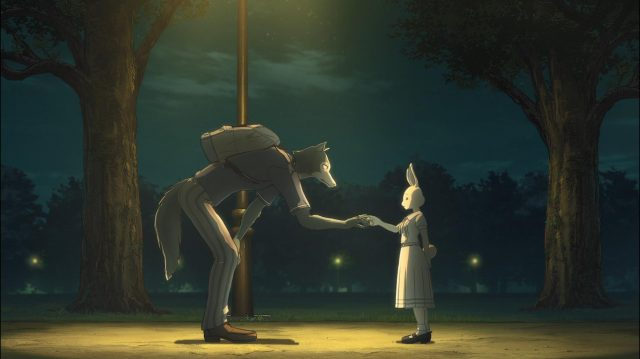Legosi e Haru, quando a coelha começa a se abrir para ele