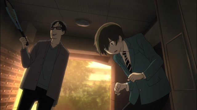 O pai do Maki retorna para roubá-lo e atormentá-lo