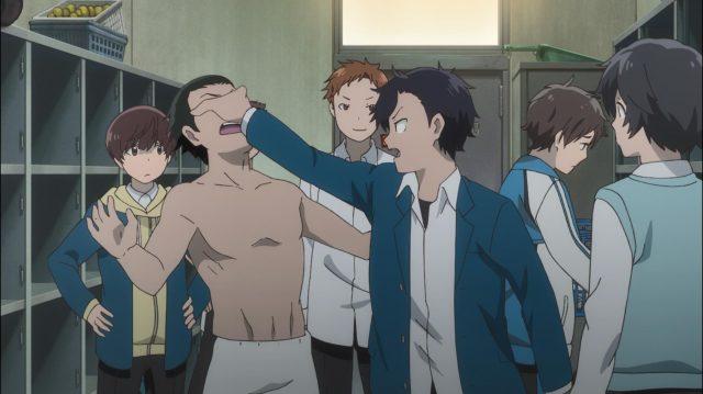 Tsubasa defende Yuuta do valentão do clube de atletismo