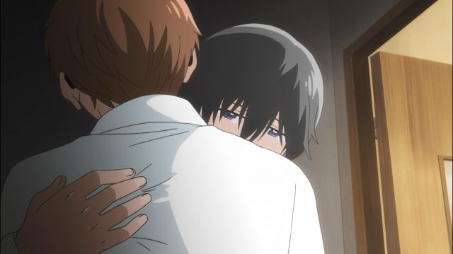 Maki abraça Touma e chora de alívio e felicidade