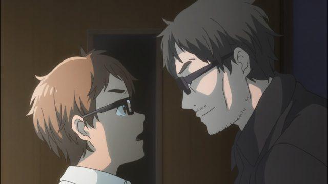 Touma desafia o pai de Maki, que não deixa ele falar sozinho