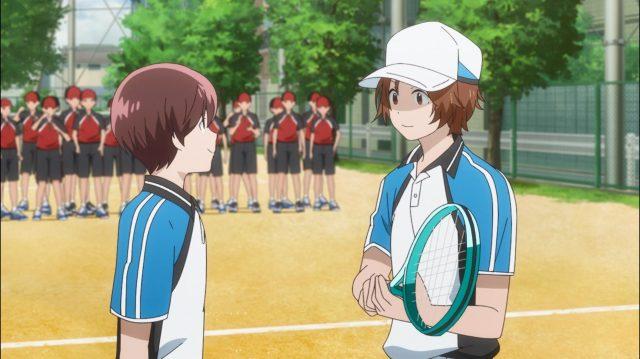 Mesmo tendo perdido o primeiro game, Itsuki e Rintarou estão animados com a partida