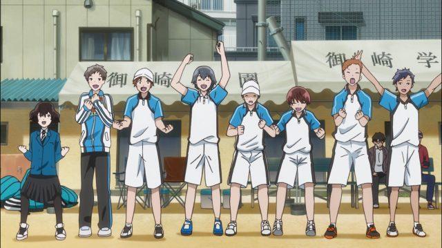 A equipe toda torcendo e vibrando por Maki e Touma: esses sentimentos e o que eles estão aprendendo ali não é nada inútil