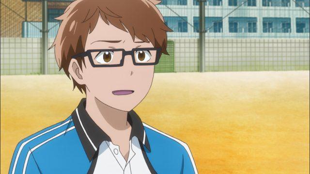 Touma fica surpreso quando Maki diz que está se divertindo durante o jogo