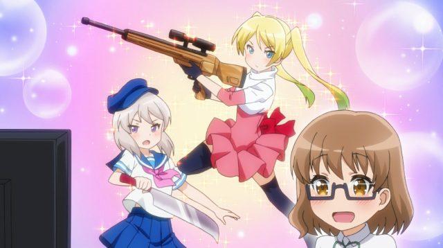 Professora Tsurumaki tem excelente gosto para anime
