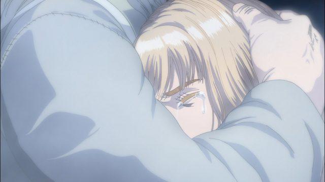 Canuto sonha com Ragnar e chora em seus braços em sua despedida