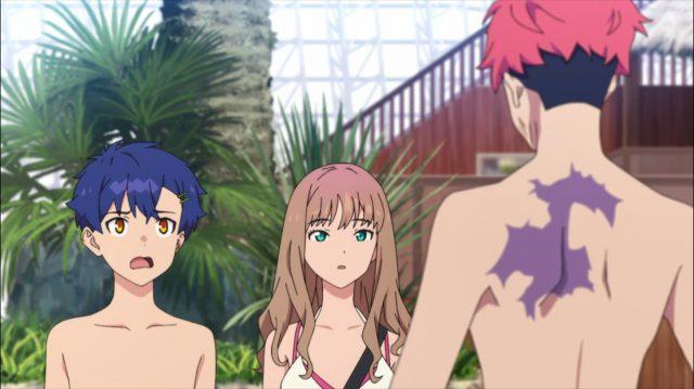 Gauma diz para Yomogi e Yume fingirem ser namorados