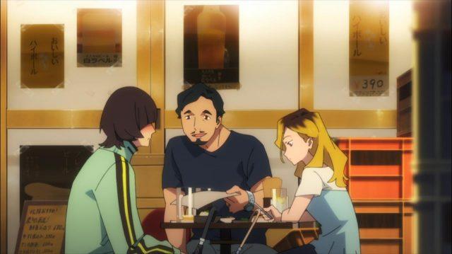 Koyomi desconfortável e chateado com o fato da Inamoto ter convidado o marido