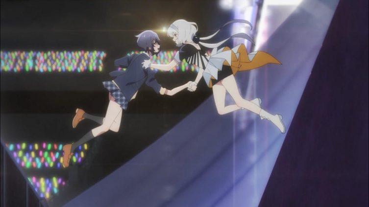 Ai e Junko se encontram no meio do ar