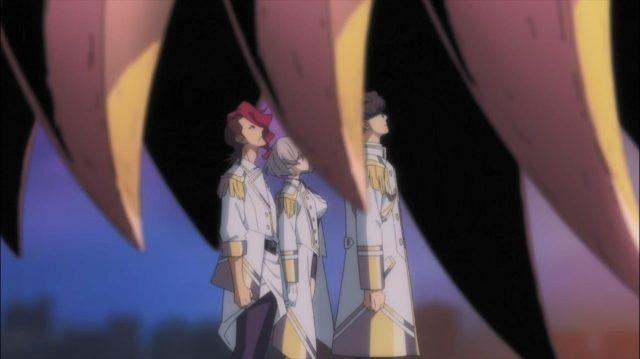 Os eugenistas escolhem lutar junto com o Shizumu