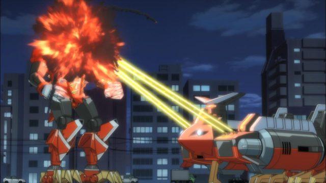 Gauma manda a real para Yomogi, com extremo prejuízo