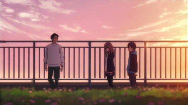 Futaba Senda, o ex-namorado de Kano. Se não veio para dizer nada novo, o que ele pretendia ao se encontrar com Yume?
