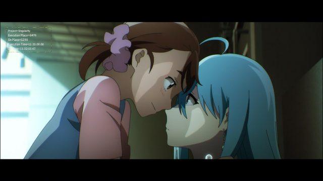 Vivy com Momoka, sua primeira amiga humana